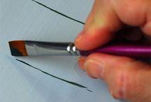 Como pintar Arboles