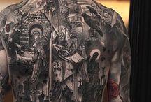 tatuaz plecy