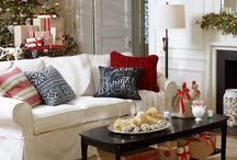 Christmas living rooms