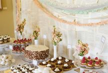 Wedding ideas - Buffet and cakes