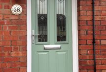 Composite & PVC front doors / Here is a selection of composite doors we have installed. There are also a few panel doors to compare.