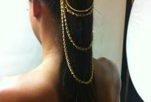 Accessories mood board / hair, body, jewellery