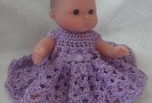 """5"""" doll clothes / Crocheted doll clothes / by Michelle Endsley"""