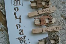 Clothes Pins / by Beth Rusmisel