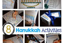 Hanukkah / Activities, ideas, and crafts to celebrate Hanukkah.