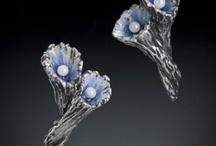 Metal Clay Earrings