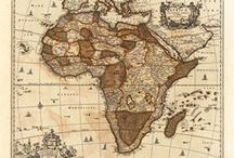 Antique Maps - Africa / Antique Maps - Africa