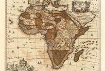 Antique Maps - Africa / Antique Maps - Africa