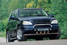 Brabus M V12 / Czy wiecie, że Brabus od początków swojego istnienia ustanawiał wiele rekordów prędkości?  Na przykład w 1998 roku na bazie Mercedesa ML powstał projekt, który dzięki silnikowi V12 o mocy 582 KM osiągał prędkość 260 km/h - wtedy, nie było na świecie szybszego SUVa!  Brabus JR Tuning http://www.brabus-jrtuning.pl/