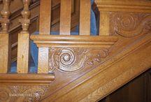 Bald horns stair