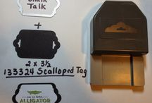 Scalloped Tag Stampin Up