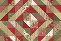 1/2 Square Triangle Quilts