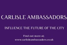Carlisle Ambassadors / Very proud to manage this programme to make Carlisle and wider Cumbria a better place to live, work, invest and visit. I've met such inspiring people, seen such incredible results from collaboration. And it's also great fun to be part of :-)