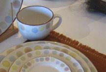 Tableware and Serveware Terracotta Collections Design / Tableware and Serveware Terracotta Collections Design