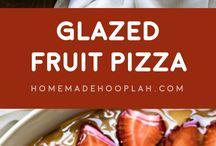 pizza.(sweet & savory)