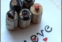 Wine cork/bottles