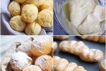 Pâte à choux / Recipes using choux pastry  / by Candace McNerny