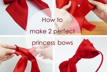 Bows / Making bows / by Crystal Hopper