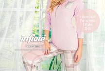 Infiore La Nuit / Infiore La Nuit collezione primavera / estate 2015 sulle vetrine di abbigliamento Intimo atena.