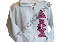 Delta Lambda Chi Sorority / Hooded sweatshirts, zip up, stoles and so much more