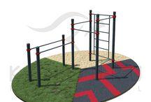 Backyard gyms