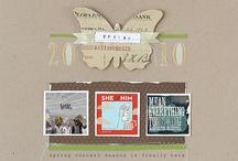 Scrapbook/Card Inspiration / by Christine Evans