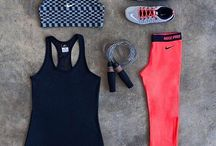 Workout clothes / by Jasmine Shireman