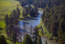 Big Blackfoot River Montana / Flyfishing on the Big Blackfoot River Montana