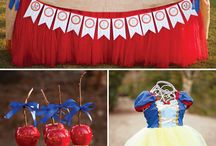 Snow White / Inspiration for a Snow White Party, Snow White and the Seven Dwarfs, Princess Party