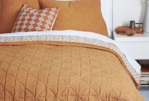 Bedding for office/guest room.