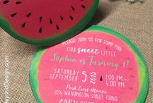 Watermelon Themed Party  / All things Watermelon