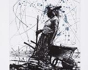 Art- Drawings / Line / by Daniel Blignaut