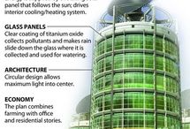 Sustainable urban vertical agri