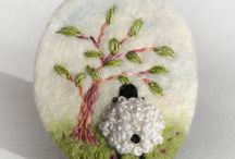 Mardit - my own handcraft creation / ... my wool felt craft and another handcraft creating