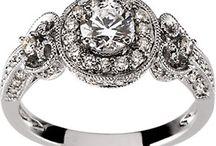 vintage rings / by Sabrina and Todd Farber