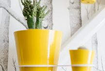 Hello Yellow / This is a personal project of mine, captured by The Pretty Blog. http://www.theprettyblog.com/style-and-home/etienne-hanekom-home-tour/  www.theprettyblog.co.za