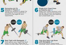 Упражнения на лето