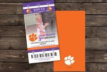 Clemson Party Designs/Ideas