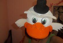 Chapéus de espuma / Chapéus de espuma para aniversário, festas escolares, desfiles,etc...