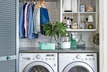 Laundry closets