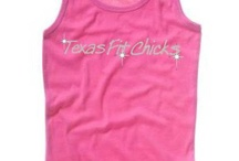 Fit Chick Bling / Add some bling to your workout! Fitness gear that will make you sparkle - all available in sizes S-2XL. HIGH-END tank. Holds up wash after wash - bling doesn't come off! Super flattering, made in the USA - all Hand-Made by a cool chick in TX!