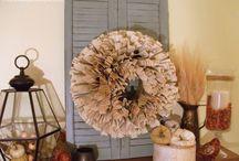 Mantels / Beautiful mantel displays