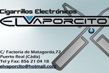 VAPEO EL VAPORCITO / WWW.ELVAPORCITO.NET, Tienda física y online de Cigarrillos electrónicos y todo para vapear, liquidos, bases aromas, mod, atomizadores reparables,