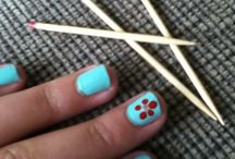 Nails / Create cute and cool designs to glamor your nails for a change. All done by me on my natural nailzzz.