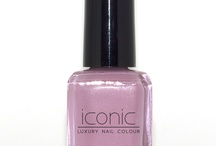 French Kiss- Iconic Luxury Nail Colour  / Dusty lilac color from the collection Parisian Socialite www.iconiclifestyleinc.com