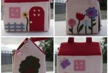 tapis et sac maisons ENFANTS