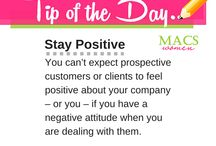 Tip of the Day / Daily tips to help your business and career!