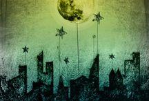 Moon, Mond, Lune