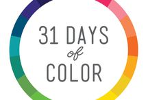 31 Days of Color: 2015 / Discover a new love for color.