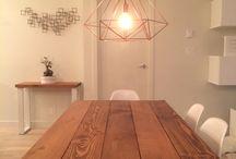 geometric chandelier himmeli
